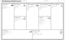 002 Fantastic Busines Model Canva Template Excel Deutsch Concept