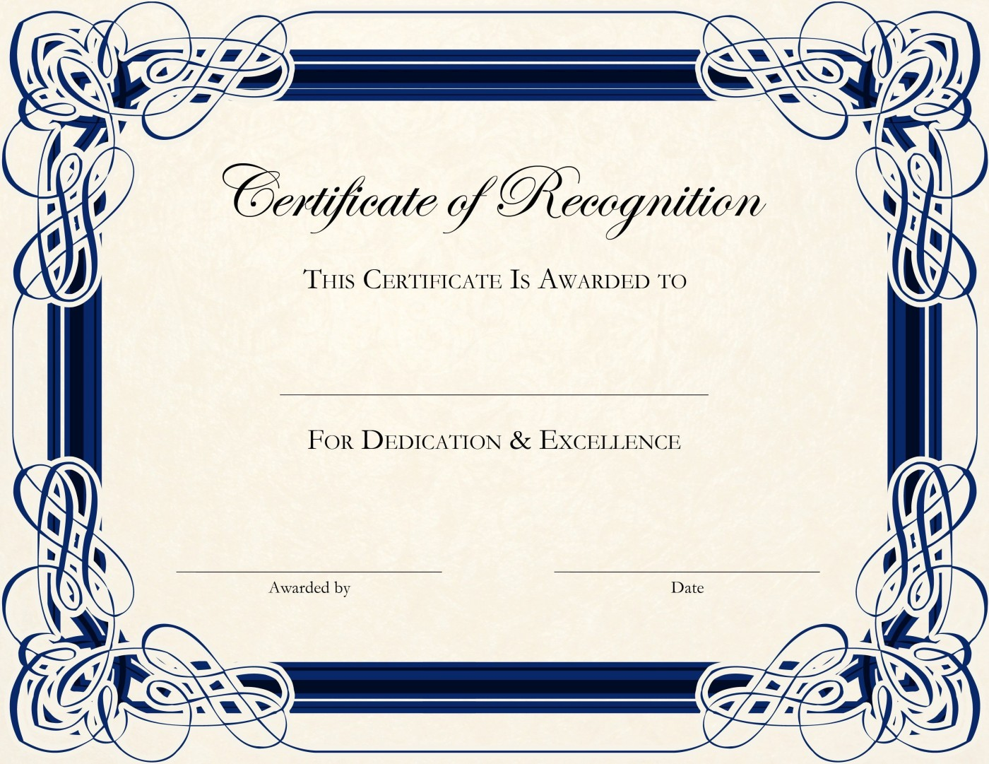 002 Fantastic Certificate Of Award Template Word Free Concept 1400