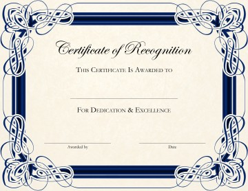 002 Fantastic Certificate Of Award Template Word Free Concept 360