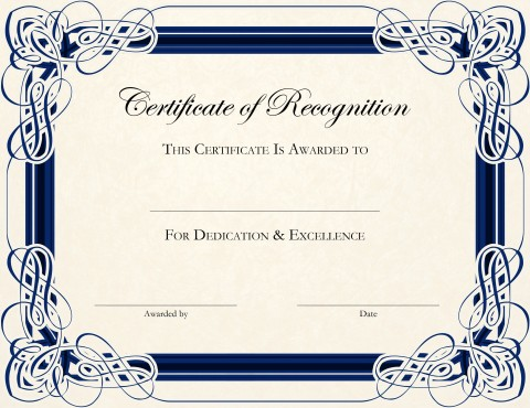 002 Fantastic Certificate Of Award Template Word Free Concept 480