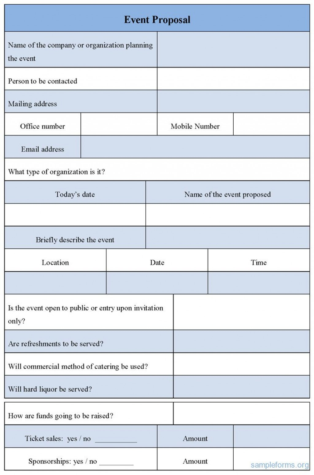 002 Fantastic Event Planning Proposal Template Design  Example Pdf WordLarge