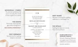 002 Fantastic Formal Wedding Invitation Wording Template Design  Templates