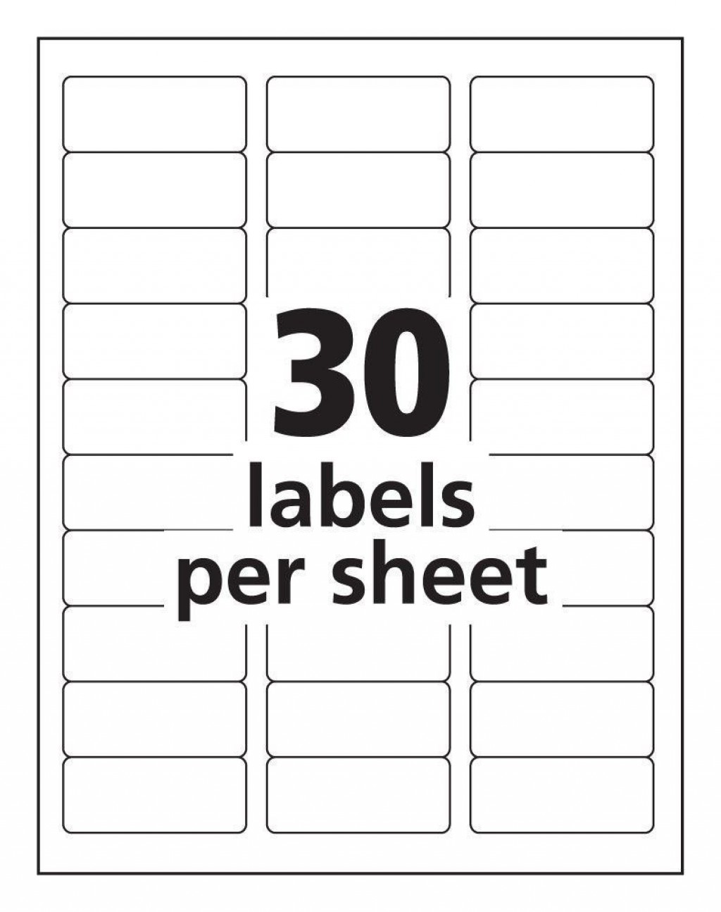 002 Fantastic Free Printable Addres Label Template Idea  Templates For Word 5160 16 Per Sheet ShippingLarge