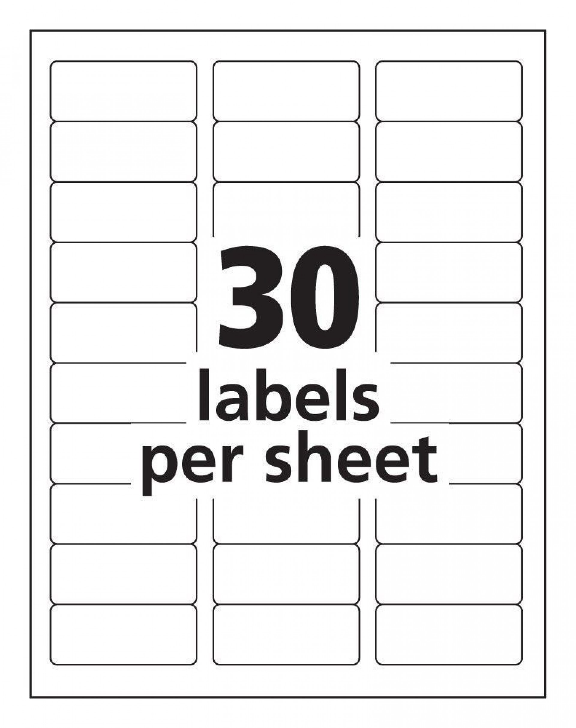 002 Fantastic Free Printable Addres Label Template Idea  Templates For Word 5160 16 Per Sheet Shipping1920