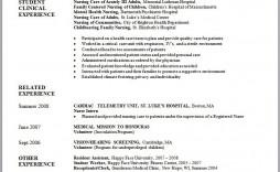 002 Fantastic Graduate Nurse Resume Template Image  Student Free New Practitioner Grad