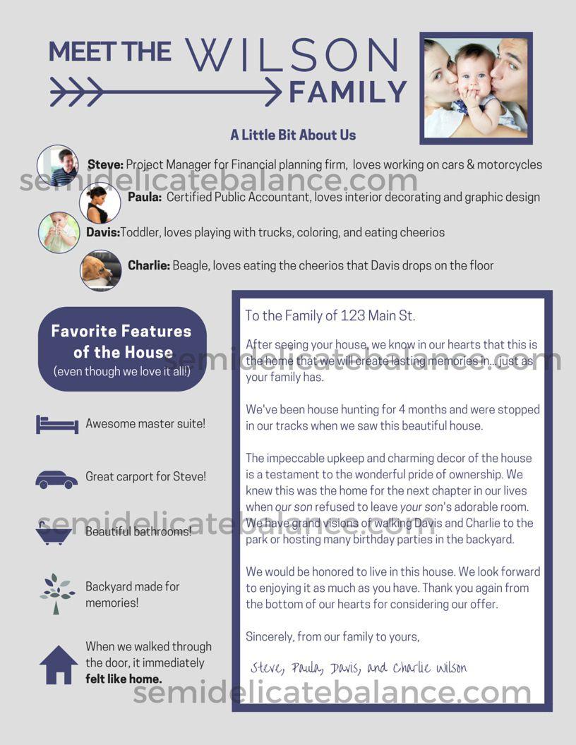 002 Fantastic Home Offer Letter Template Concept  PurchaseFull