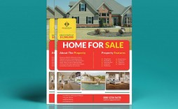 002 Fantastic House For Sale Flyer Template Highest Clarity  Free Ad