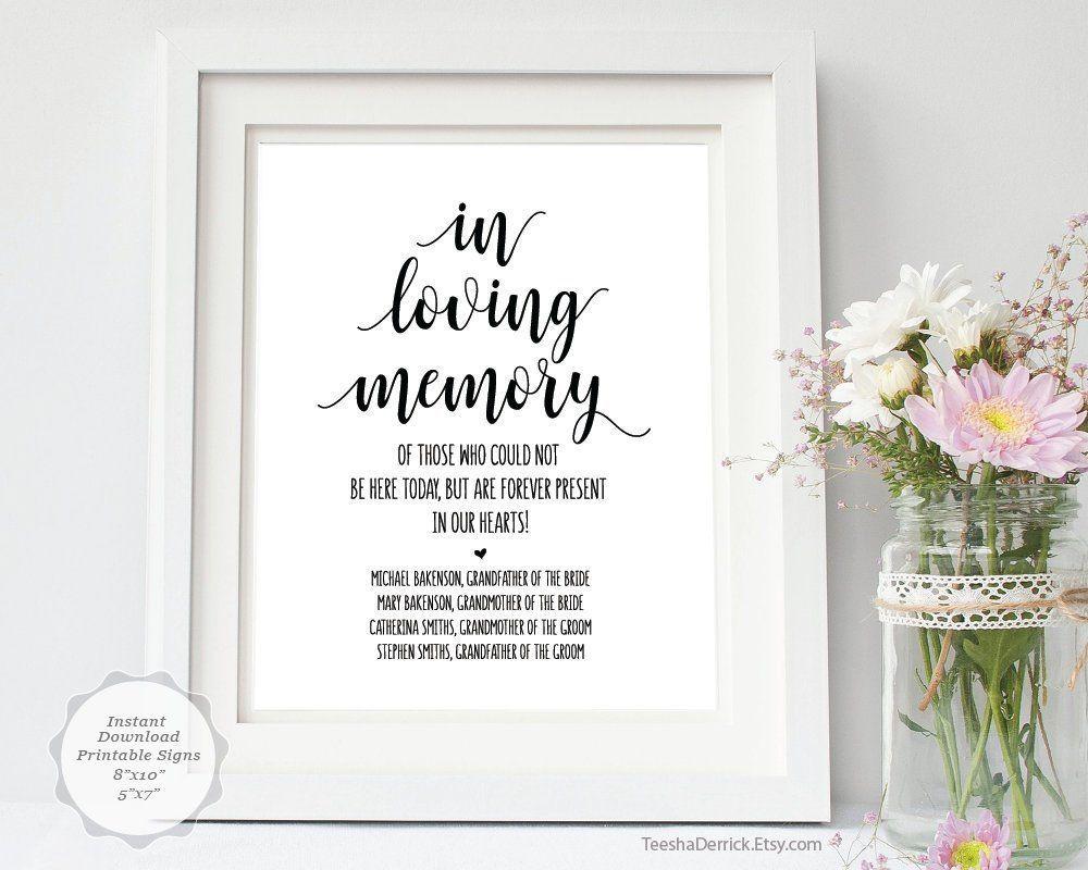 002 Fantastic In Loving Memory Template Image  Templates WordFull