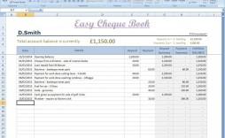 002 Fantastic Microsoft Excel Checkbook Template Concept  2010 Register