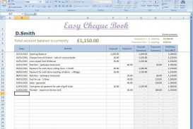 002 Fantastic Microsoft Excel Checkbook Template Concept  Register 2010
