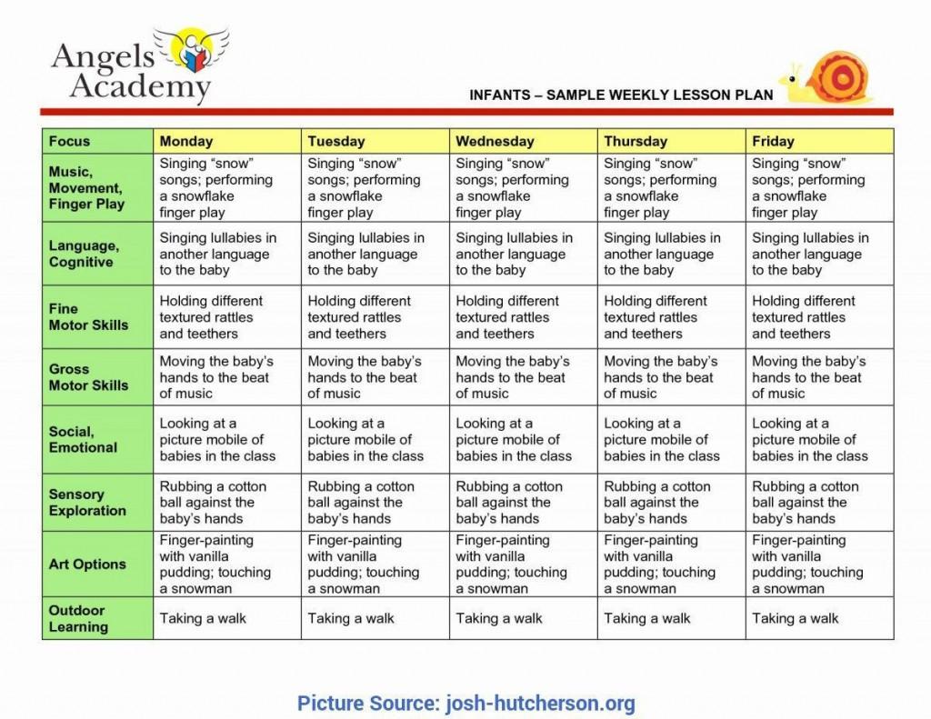 002 Fantastic Pre K Lesson Plan Sample  Nc Template Ga Pre-kLarge