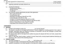 002 Fantastic Residential Lease Agreement Template Idea  Tenancy Form Alberta California