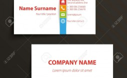 002 Fantastic Simple Visiting Card Template Picture  Templates Busines Psd Design File Free Download