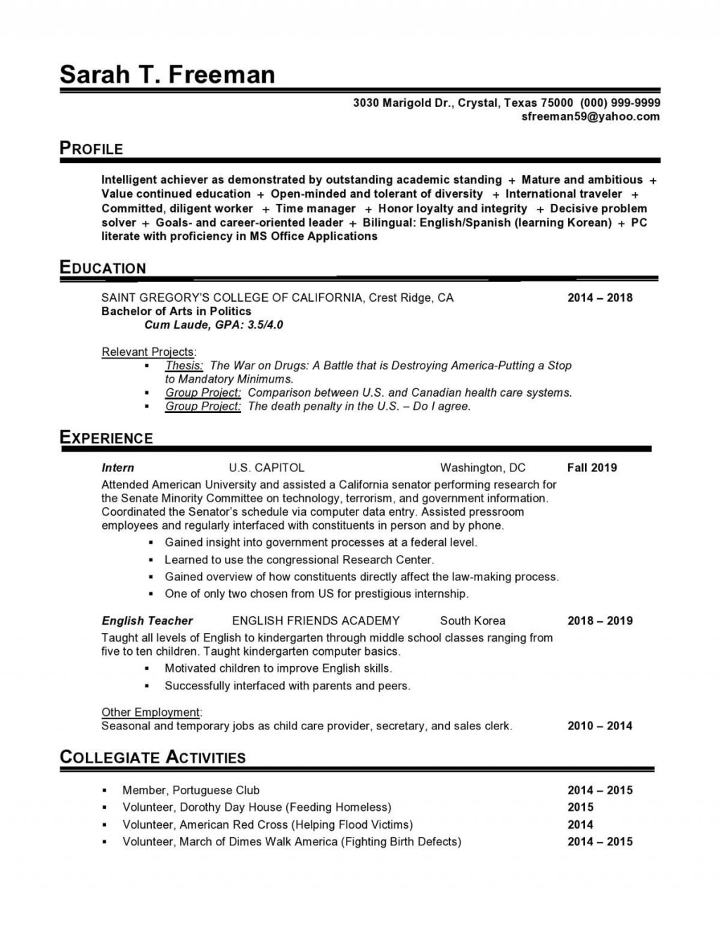 002 Fantastic Usa Job Resume Template Photo  Builder Usajob FederalLarge
