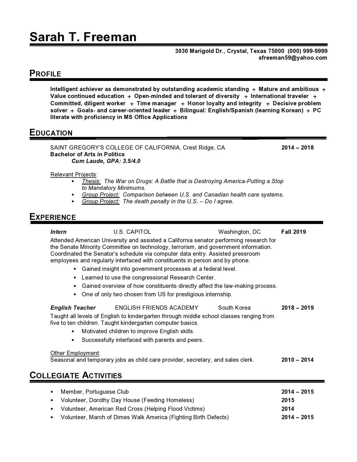 002 Fantastic Usa Job Resume Template Photo  Builder Usajob FederalFull