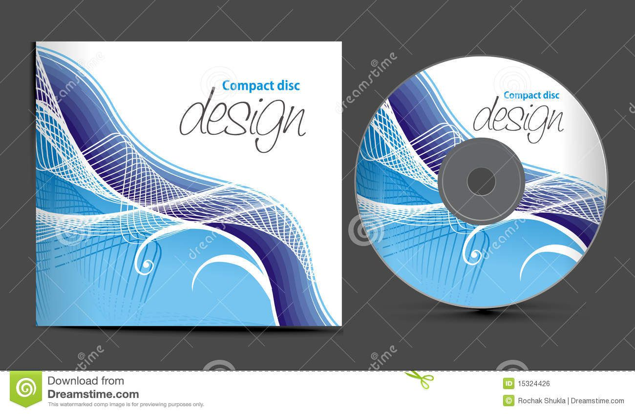 002 Fantastic Vector Cd Cover Design Template Free Sample Full
