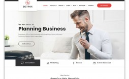 002 Fascinating Bootstrap Responsive Professional Website Template Free Download Inspiration