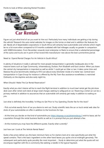 002 Fascinating Car Rental Agreement Template South Africa Example  Vehicle Rent To Own360