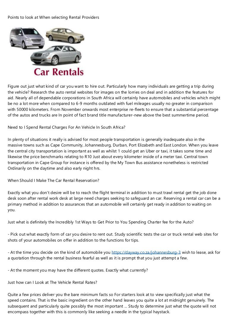 002 Fascinating Car Rental Agreement Template South Africa Example  Vehicle Rent To OwnFull