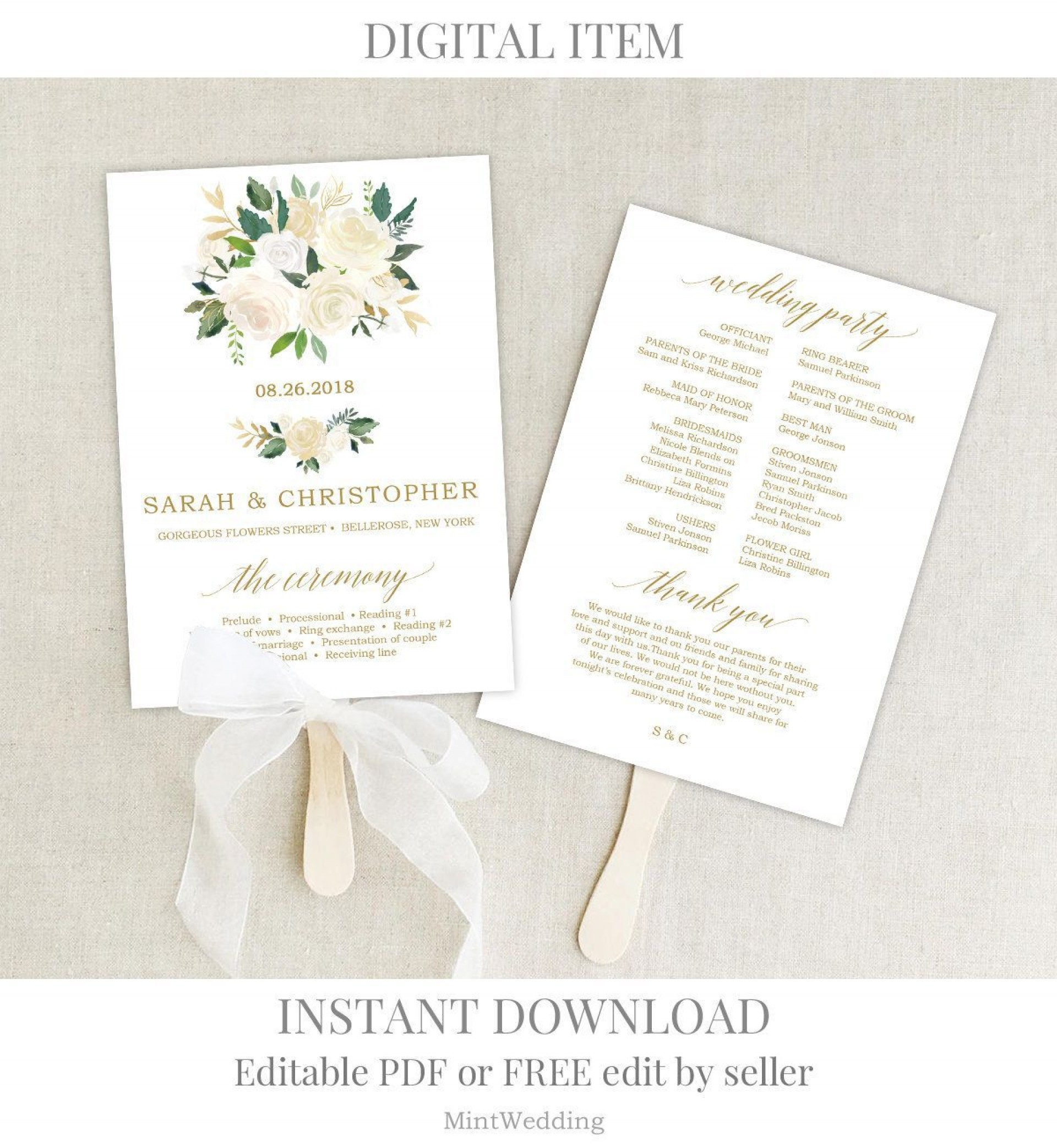 002 Fascinating Free Wedding Program Template For Word Highest Clarity  Download Fan Microsoft Downloadable Reception1920