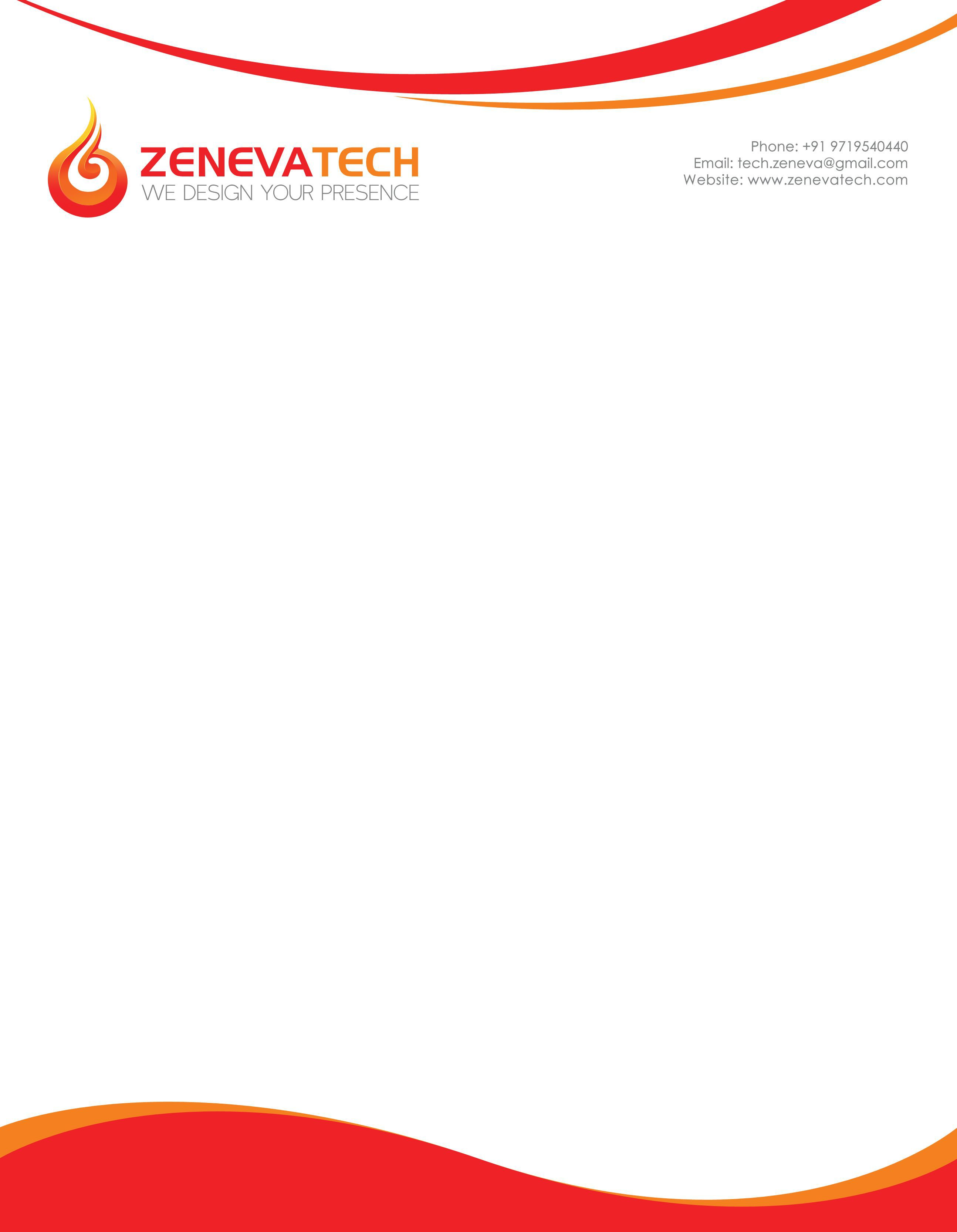 002 Fascinating Letter Pad Design Template Concept  Letterhead Download Ai Free In WordFull