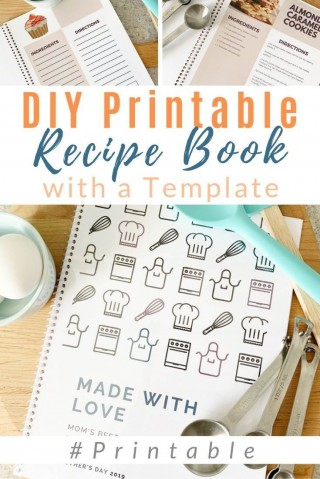 002 Fascinating Make Your Own Cookbook Template Free Photo  Download320