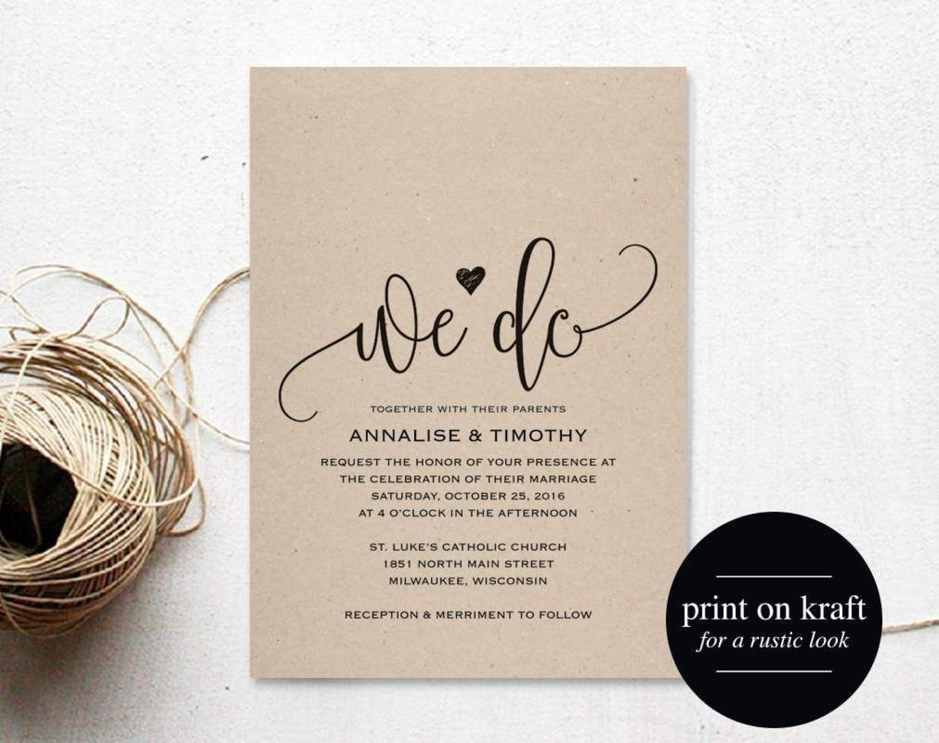 002 Fascinating Microsoft Word Wedding Invitation Template Free Download Concept  M Editable1920
