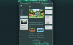 002 Fascinating Minecraft Website Template Html Free Download Photo
