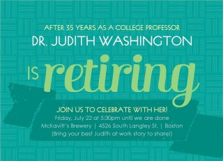002 Fascinating Retirement Party Invitation Template Free Word Image  M320