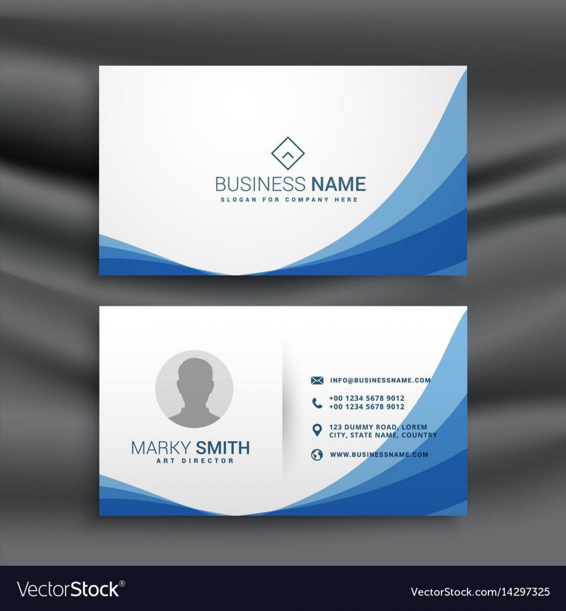 002 Fascinating Simple Visiting Card Design High Definition  Busines Idea Psd File Free Download1920