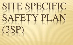 002 Fascinating Site Specific Safety Plan Template Osha Idea