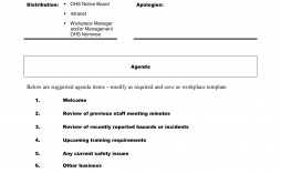 002 Fascinating Staff Meeting Agenda Template Example  Format