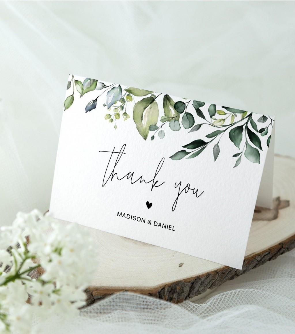 002 Fascinating Thank You Card Template Wedding Inspiration  Free Printable PublisherLarge