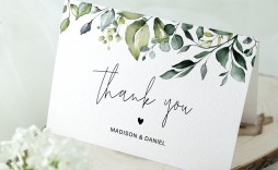 002 Fascinating Thank You Card Template Wedding Inspiration  Free Printable Publisher