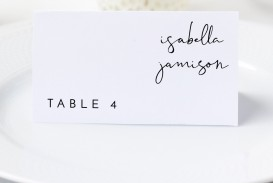 002 Fascinating Wedding Name Card Template Picture  Free Download Design Sticker Format