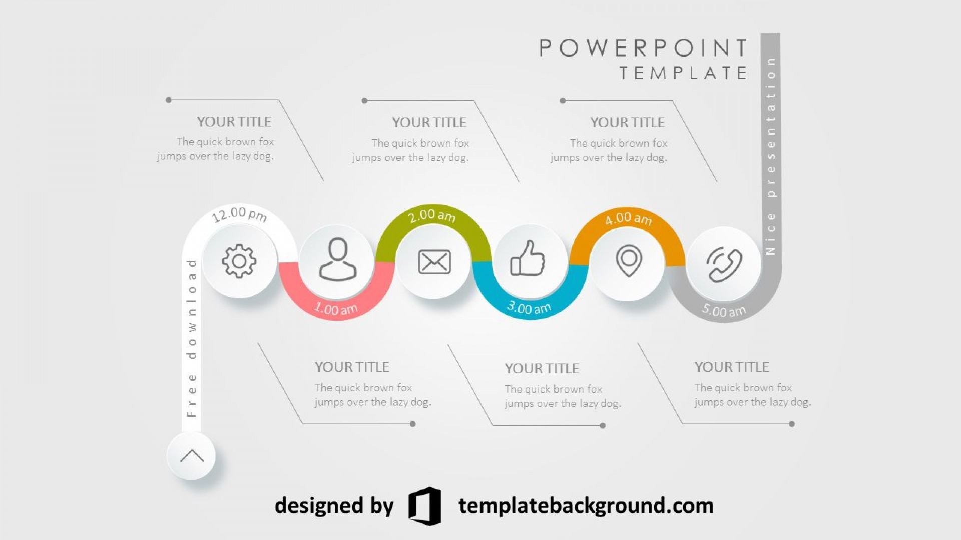 002 Fearsome Animation Powerpoint Template Free Highest Clarity  Animated Download 2019 20101920