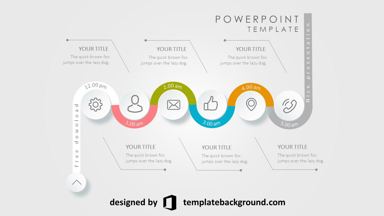 002 Fearsome Animation Powerpoint Template Free Highest Clarity  Animated Download 2019 2010Full