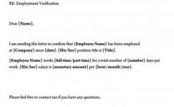 002 Fearsome Employment Verification Form Template Picture  Templates Previou Past Printable