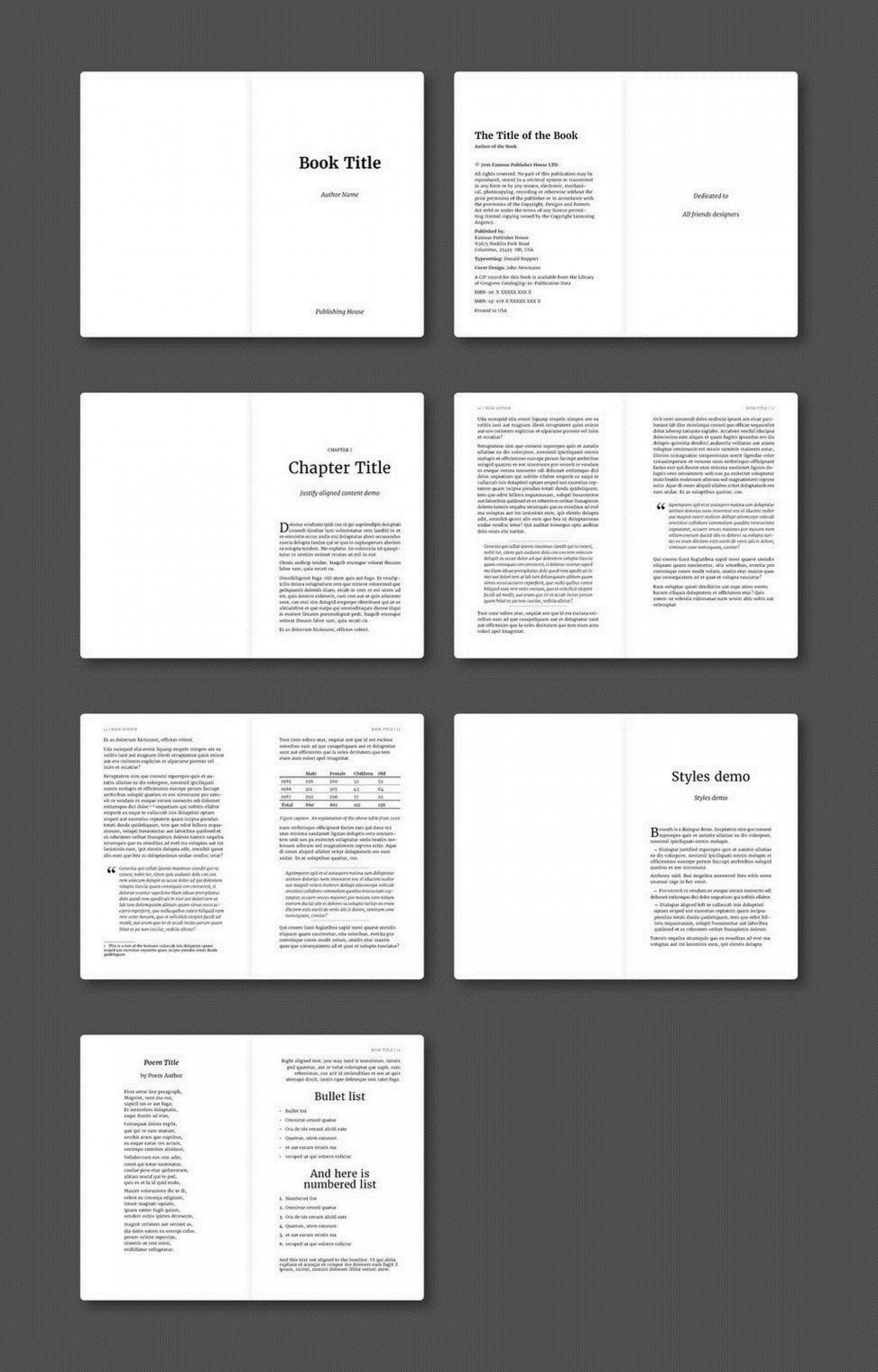002 Fearsome Free Indesign Book Template Download High Definition  Cs6 AdobeFull