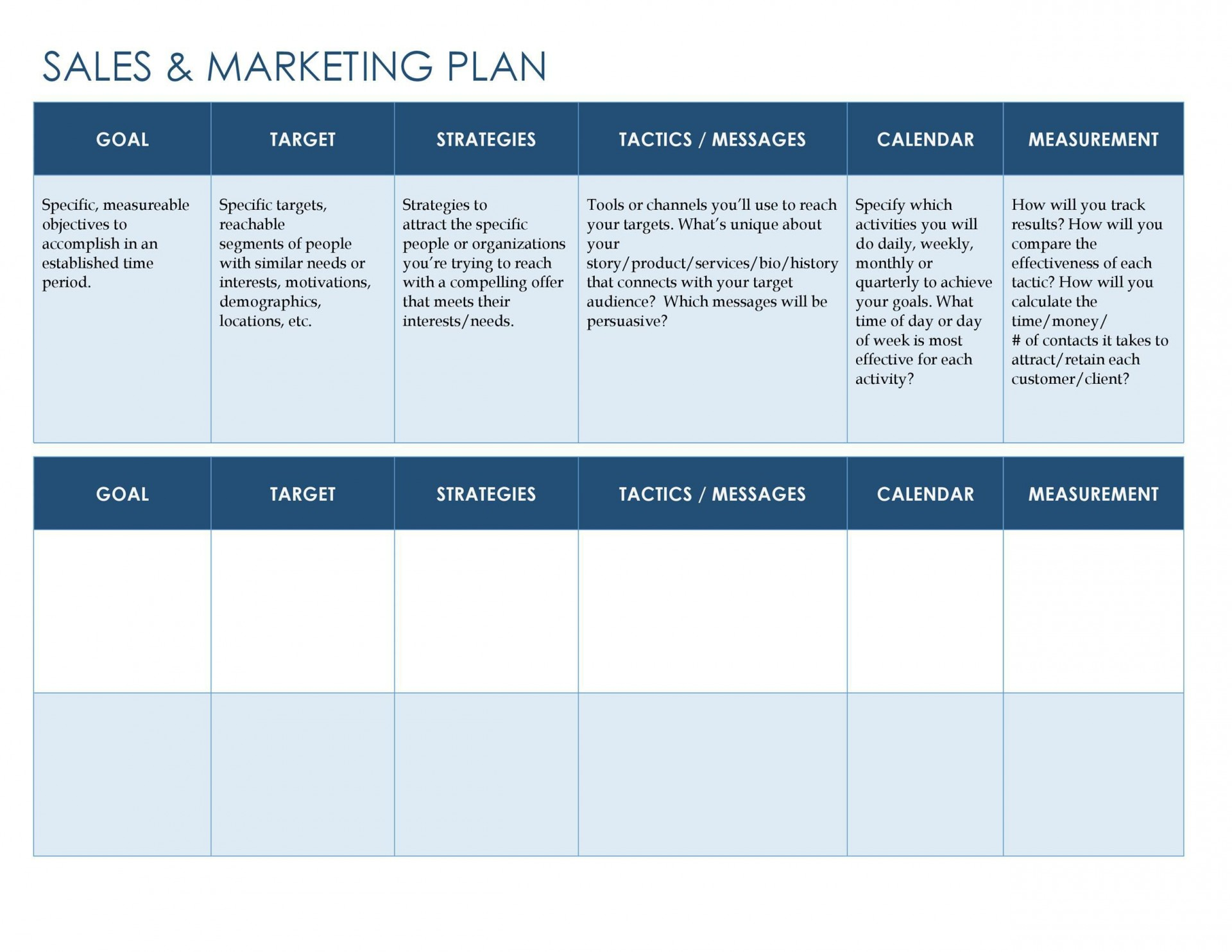 002 Fearsome Hotel Sale And Marketing Action Plan Template High Resolution 1920