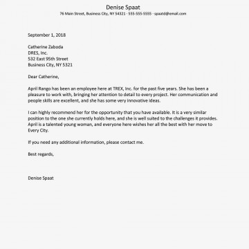 002 Fearsome Letter Of Reference Template Highest Quality  Pdf For Student Volunteer Teacher360