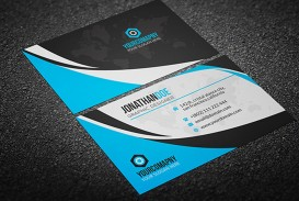 002 Fearsome Psd Busines Card Template Design  With Bleed And Crop Mark Vistaprint Free