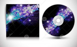 002 Formidable Cd Cover Design Template  Free Vector Illustration Word Psd Download