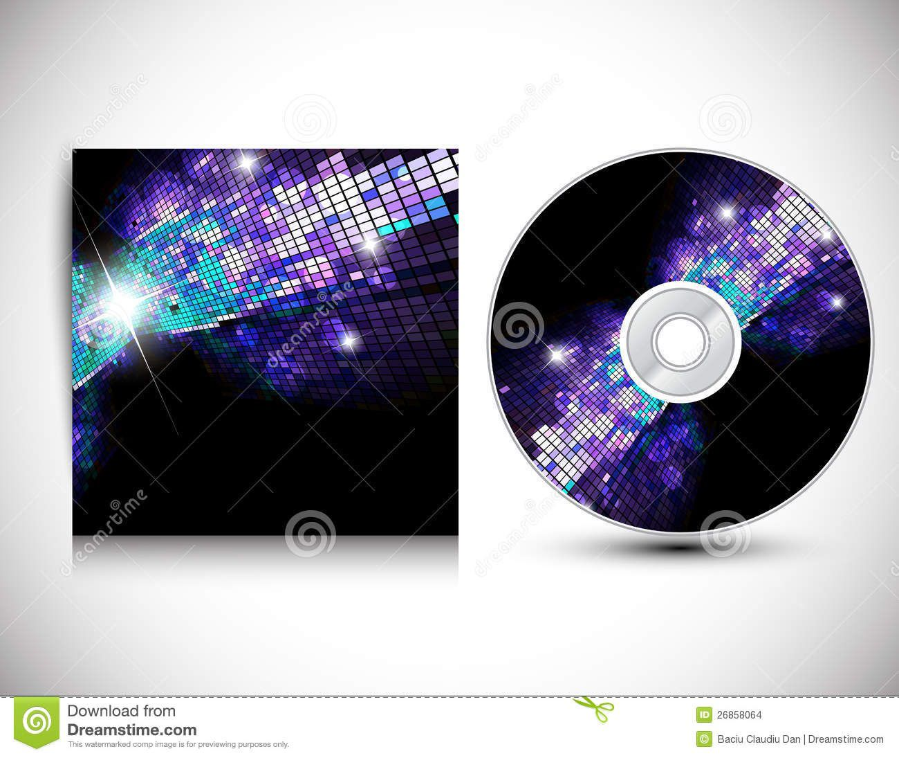002 Formidable Cd Cover Design Template  Free Vector Illustration Word Psd DownloadFull