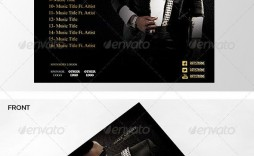 002 Formidable Cd Cover Template Psd Highest Clarity  Sleeve Case Free Download Layout