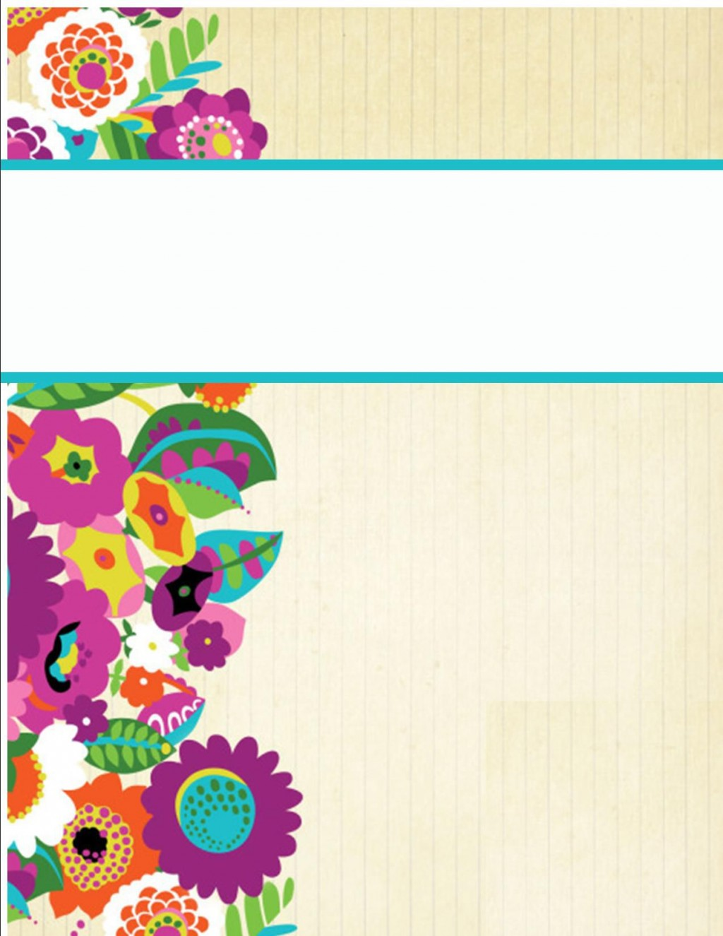 002 Formidable Cute Binder Cover Template Free Printable Image Large