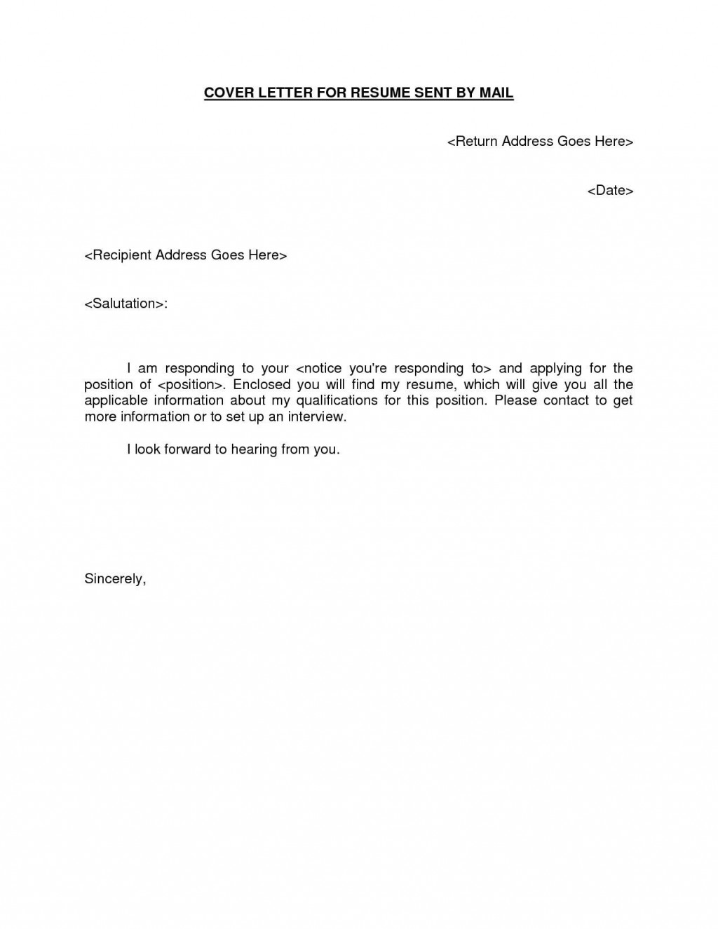 002 Formidable Email Cover Letter Example For Resume Idea  Sample Through AttachedLarge