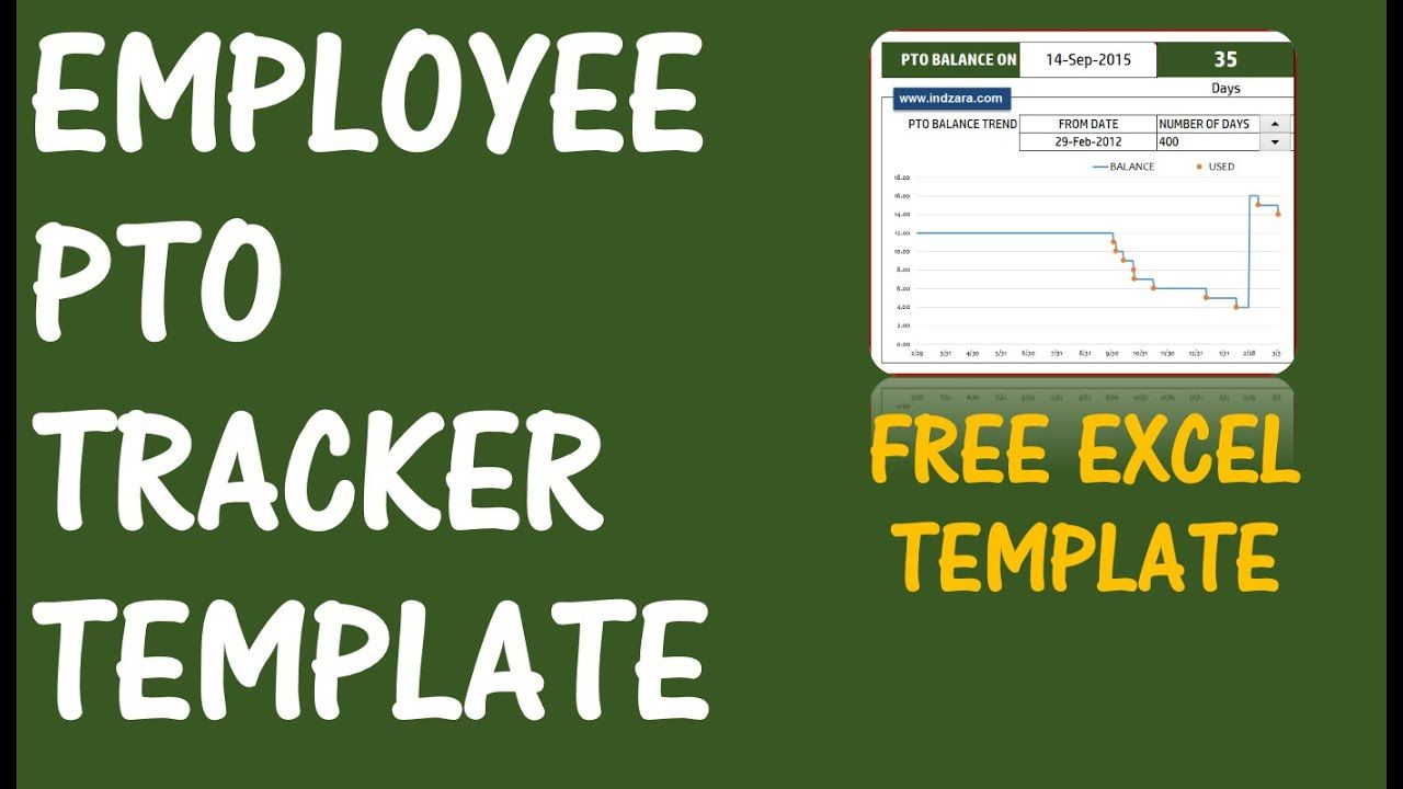002 Formidable Excel Pto Tracker Template Photo  Employee Vacation Spreadsheet 2019 FreeFull
