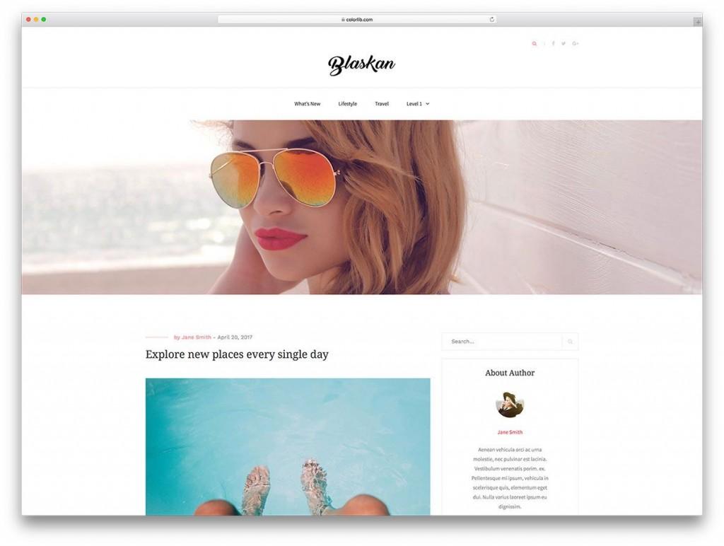 002 Formidable Free Blog Template Wordpres High Def  Wordpress Best Travel Theme Food 2020Large