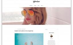 002 Formidable Free Blog Template Wordpres High Def  Wordpress Best Travel Theme Food 2020